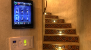 Keypads by the Stairway